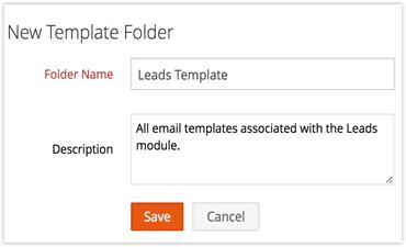 Lead template