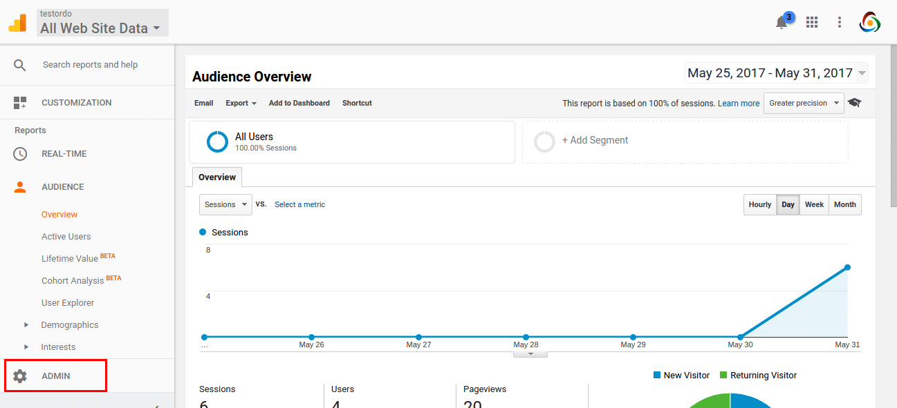 How to Integrate Google Analytics with Odoo - Target Integration