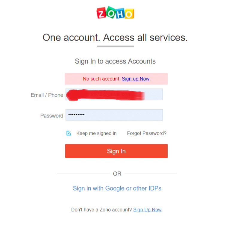 How to delete your Zoho account Permanently? - Target Integration